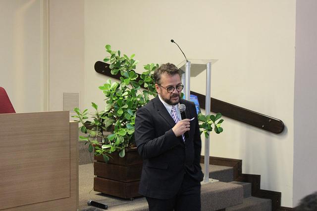 Diretor do IBGPAT ministra palestra em Ciclo de Estudos do EJUD8
